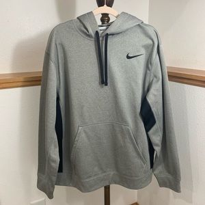 Nike grey with black sweatshirt XL